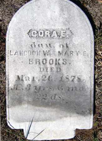 BROOKS, CORA E - Warren County, New York   CORA E BROOKS - New York Gravestone Photos