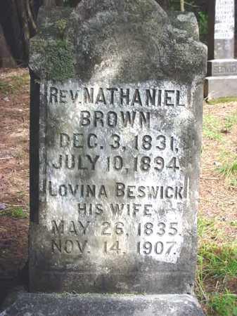 BESWICK BROWN, LOVINA - Warren County, New York | LOVINA BESWICK BROWN - New York Gravestone Photos