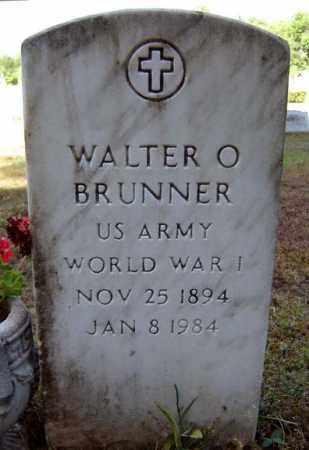 BRUNNER, WALTER O - Warren County, New York | WALTER O BRUNNER - New York Gravestone Photos