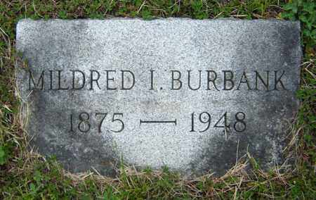BURBANK, MILDRED I - Warren County, New York | MILDRED I BURBANK - New York Gravestone Photos