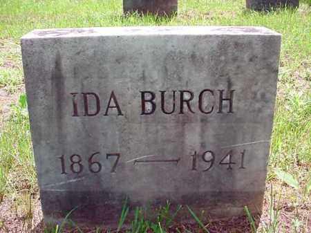 BURCH, IDA - Warren County, New York   IDA BURCH - New York Gravestone Photos