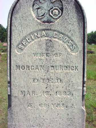BURDICK, SELINA - Warren County, New York | SELINA BURDICK - New York Gravestone Photos