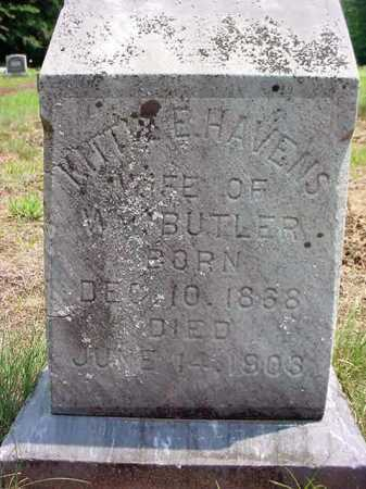 BUTLER, KITTIE E - Warren County, New York | KITTIE E BUTLER - New York Gravestone Photos