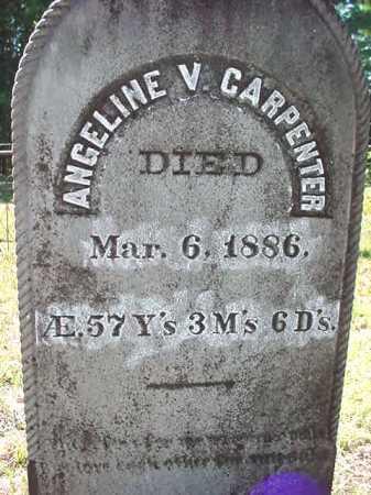 CARPENTER, ANGELINE V - Warren County, New York | ANGELINE V CARPENTER - New York Gravestone Photos