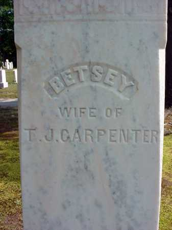 CARPENTER, BETSEY - Warren County, New York | BETSEY CARPENTER - New York Gravestone Photos