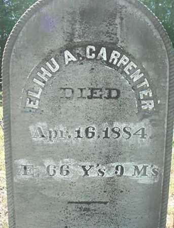 CARPENTER, ELIHU A - Warren County, New York | ELIHU A CARPENTER - New York Gravestone Photos