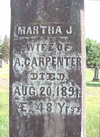 CARPENTER, MARTHA J - Warren County, New York | MARTHA J CARPENTER - New York Gravestone Photos