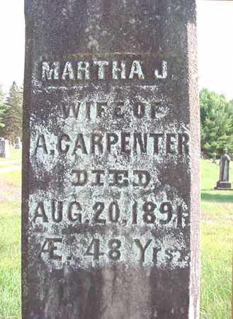 CARPENTER, MARTHA J - Warren County, New York | MARTHA J CARPENTER - New York Gravestone Photos