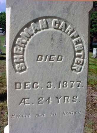 CARPENTER, SHERMAN - Warren County, New York | SHERMAN CARPENTER - New York Gravestone Photos