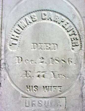 CARPENTER, THOMAS - Warren County, New York   THOMAS CARPENTER - New York Gravestone Photos