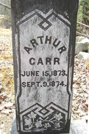 CARR, ARTHUR - Warren County, New York   ARTHUR CARR - New York Gravestone Photos