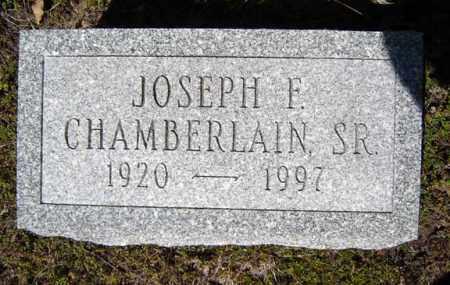 CHAMBERLAIN, JOSEPH F - Warren County, New York | JOSEPH F CHAMBERLAIN - New York Gravestone Photos