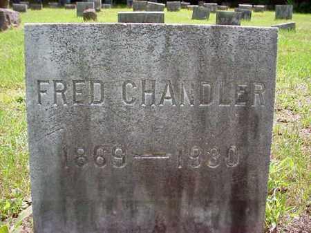 CHANDLER, FRED - Warren County, New York | FRED CHANDLER - New York Gravestone Photos