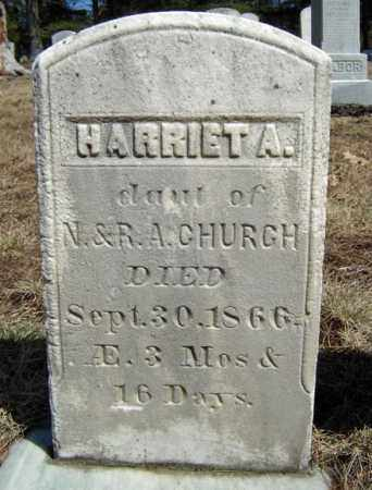 CHURCH, HARRIET A - Warren County, New York | HARRIET A CHURCH - New York Gravestone Photos