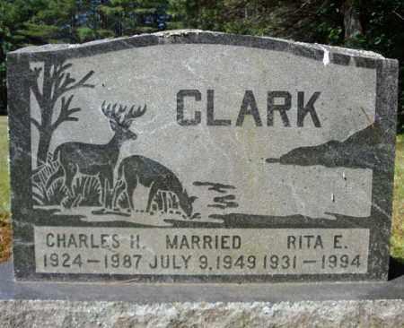 CLARK, CHARLES H - Warren County, New York | CHARLES H CLARK - New York Gravestone Photos