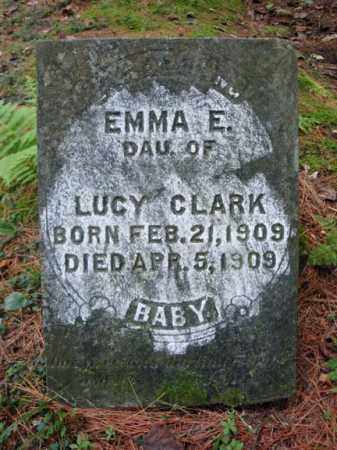 CLARK, EMMA E - Warren County, New York | EMMA E CLARK - New York Gravestone Photos
