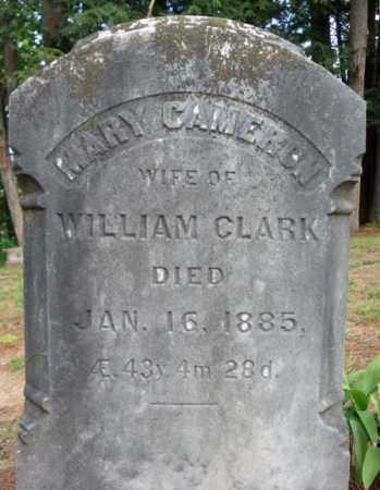 CLARK, MARY - Warren County, New York   MARY CLARK - New York Gravestone Photos