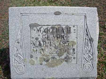 CLARK, MARTHA H - Warren County, New York | MARTHA H CLARK - New York Gravestone Photos