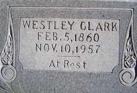 CLARK, WESTLEY - Warren County, New York | WESTLEY CLARK - New York Gravestone Photos