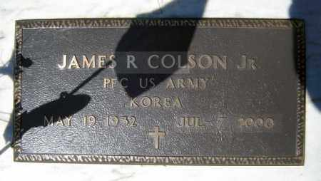 COLSON (KOR), JAMES R - Warren County, New York | JAMES R COLSON (KOR) - New York Gravestone Photos