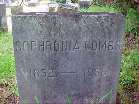 COMBS, SOPHRONIA - Warren County, New York | SOPHRONIA COMBS - New York Gravestone Photos
