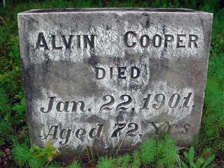 COOPER, ALVIN - Warren County, New York | ALVIN COOPER - New York Gravestone Photos