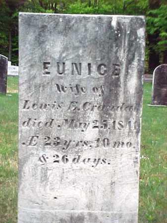 CRANDAL, EUNICE - Warren County, New York | EUNICE CRANDAL - New York Gravestone Photos