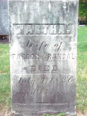 CRANDAL, MARTHA - Warren County, New York | MARTHA CRANDAL - New York Gravestone Photos