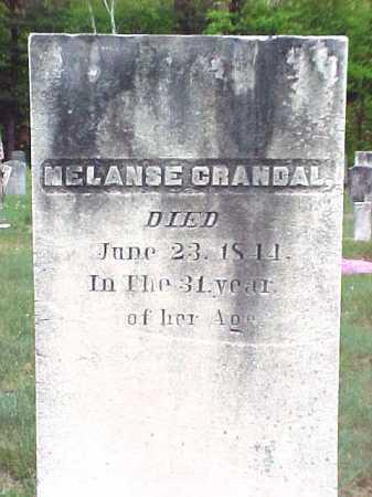 CRANDAL, MELANSE - Warren County, New York | MELANSE CRANDAL - New York Gravestone Photos