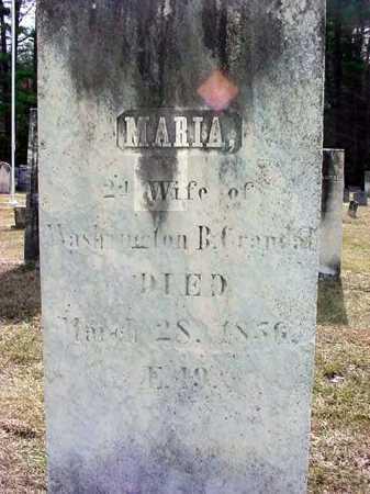 CRANDAL, MARIA - Warren County, New York | MARIA CRANDAL - New York Gravestone Photos
