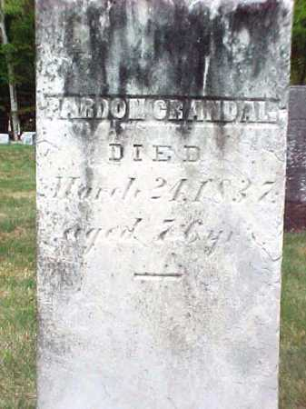 CRANDAL, PARDON - Warren County, New York | PARDON CRANDAL - New York Gravestone Photos