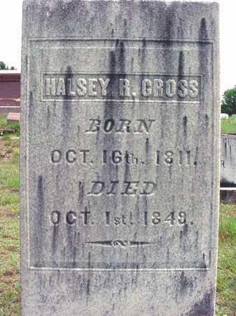 CROSS, HALSEY R - Warren County, New York | HALSEY R CROSS - New York Gravestone Photos