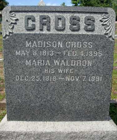 CROSS, MARIA - Warren County, New York   MARIA CROSS - New York Gravestone Photos