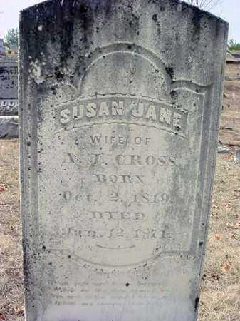 CROSS, SUSAN JANE - Warren County, New York | SUSAN JANE CROSS - New York Gravestone Photos