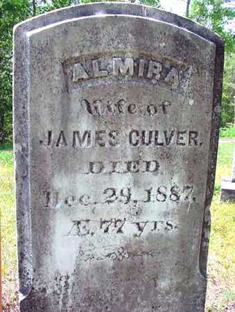 CULVER, ALMIRA - Warren County, New York | ALMIRA CULVER - New York Gravestone Photos