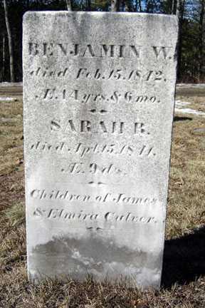CULVER, SARAH R - Warren County, New York | SARAH R CULVER - New York Gravestone Photos