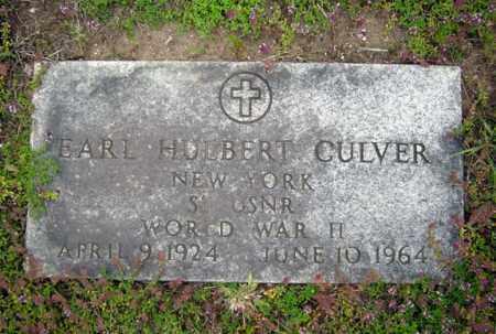 CULVER, EARL HULBERT - Warren County, New York   EARL HULBERT CULVER - New York Gravestone Photos