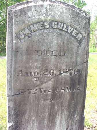 CULVER, JAMES - Warren County, New York   JAMES CULVER - New York Gravestone Photos