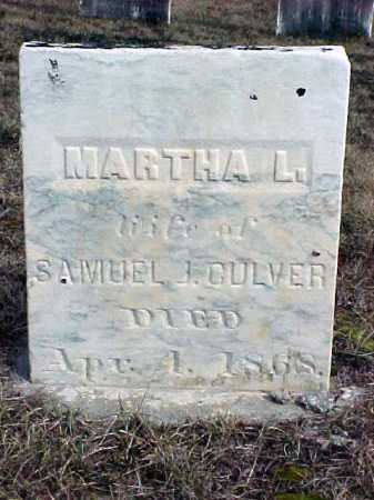 CULVER, MARTHA L - Warren County, New York | MARTHA L CULVER - New York Gravestone Photos