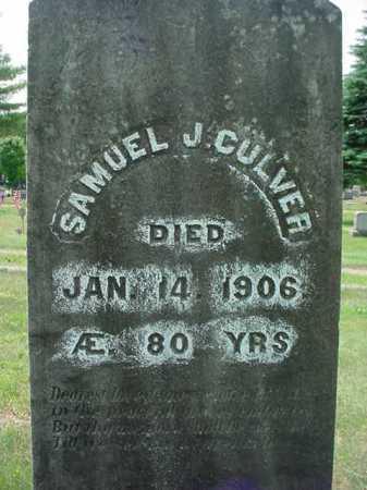 CULVER, SAMUEL J - Warren County, New York | SAMUEL J CULVER - New York Gravestone Photos