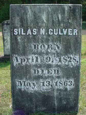 CULVER, SILAS NELSON - Warren County, New York | SILAS NELSON CULVER - New York Gravestone Photos