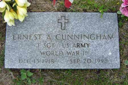 CUNNINGHAM (WWII), ERNEST A - Warren County, New York | ERNEST A CUNNINGHAM (WWII) - New York Gravestone Photos
