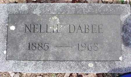 DABEE, NELLIE - Warren County, New York | NELLIE DABEE - New York Gravestone Photos