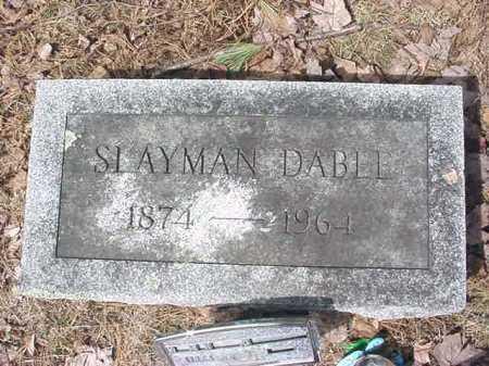 DABEE, SLAYMAN - Warren County, New York | SLAYMAN DABEE - New York Gravestone Photos