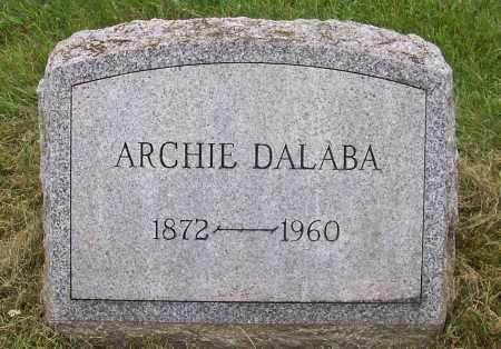 DALABA, ARCHIE - Warren County, New York | ARCHIE DALABA - New York Gravestone Photos