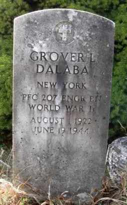 DALABA, GROVER LLOYD - Warren County, New York | GROVER LLOYD DALABA - New York Gravestone Photos