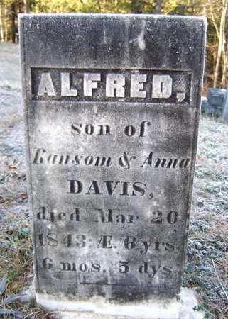 DAVIS, ALFRED - Warren County, New York   ALFRED DAVIS - New York Gravestone Photos