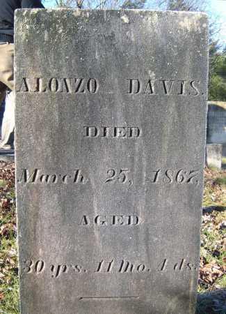 DAVIS, ALONZO - Warren County, New York   ALONZO DAVIS - New York Gravestone Photos