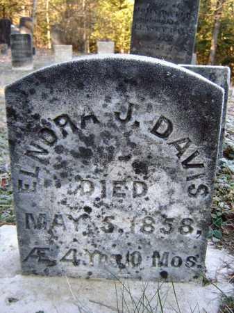 DAVIS, ELNORA J - Warren County, New York | ELNORA J DAVIS - New York Gravestone Photos
