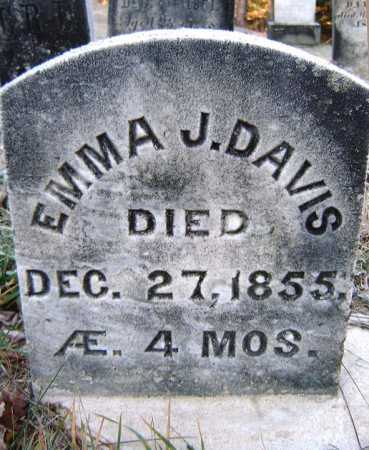 DAVIS, EMMA J - Warren County, New York | EMMA J DAVIS - New York Gravestone Photos